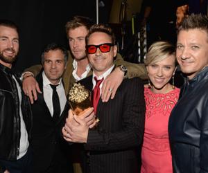 Avengers, chris evans, and mark ruffalo image