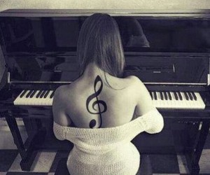 music and tatto image