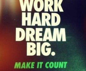 nike, Dream, and motivation image