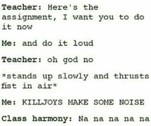 lol, school, and songs image