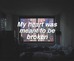 broken, grunge, and heart image