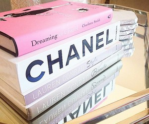books, chanel, and fashion image