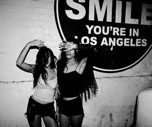 girl, smile, and los angeles image