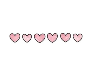 background, hearts, and pastel image
