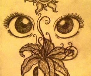 tangled, drawing, and art image
