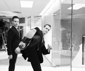 suits, mike, and series image