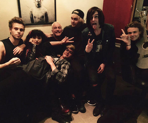 5sos, kellin quinn, and sleeping with sirens image