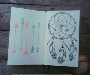 arrows, artwork, and doodle image
