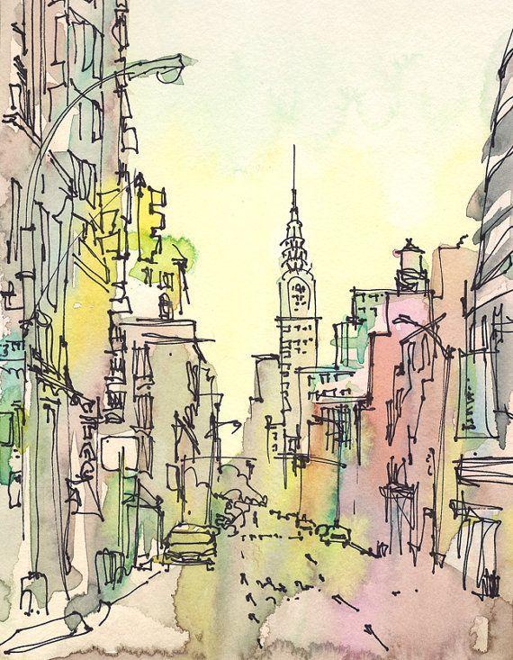 art and city image