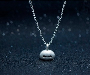 necklace and baymax image