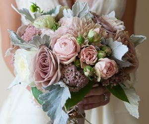 bouquet, beautiful, and flores image