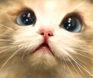 animal, cat, and illustration image