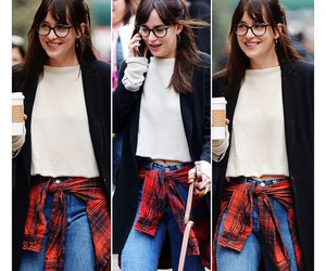 fashion, glasses, and grunge image