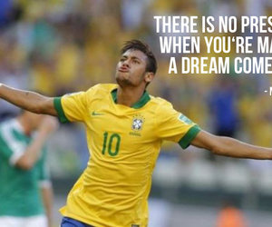quote, neymar, and football image