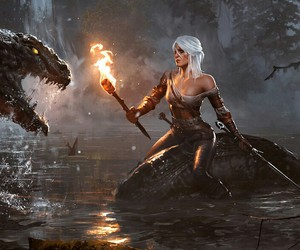 wild hunt and witcher image