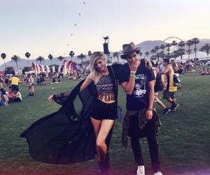 coachella, festival, and party image