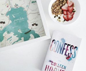 books, confess, and colleen hoover image