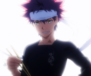 anime, cooking, and guy image