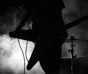 black and white, concert, and diy image