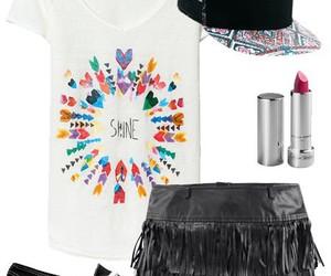 fashion, festival, and makeup image