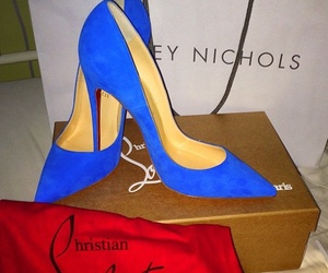 blue and heels image