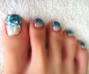 blue, feet, and summer image