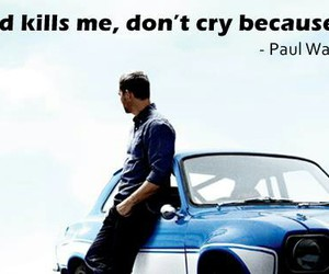 fast & furious, paul, and r.i.p image