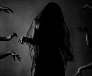 dark, gothic, and horror image