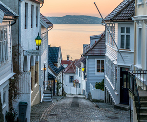 city, norway, and travel image