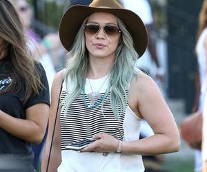 coachella and Hilary Duff image