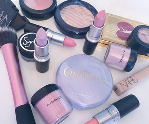 mac, lipstick, and make up image