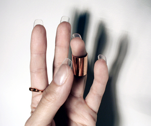 nails and transparent image