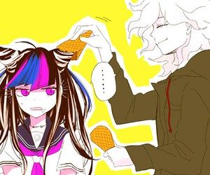 anime, nagito komaeda, and dr image