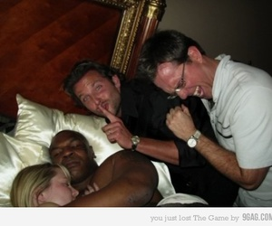 the hangover, mike tyson, and ed helms image