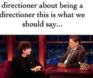 1d, onedirection, and proud directioner image