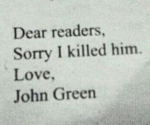quotes, citation, and johngreen image