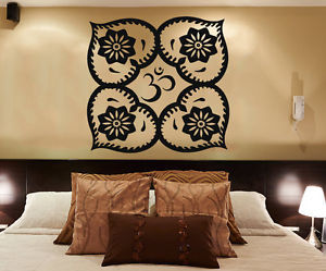 mandala, wall decals, and indian pattern image