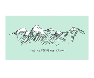hipster, pastel, and mountains image