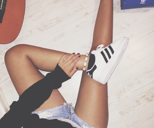 adidas, black, and black and white image