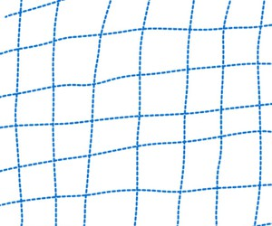 art, blue, and grid image
