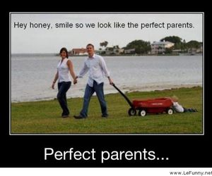 funny, lol, and the perfect parents image