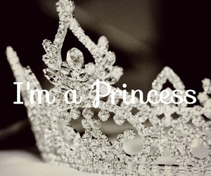 princess, crown, and diamond image