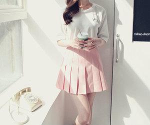 kfashion, pretty, and skirt image