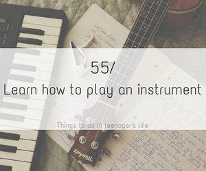 guitar, instrument, and learn image