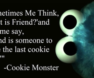 cookie monster, friends, and cookie image