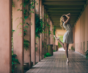 ballet, dance, and green image