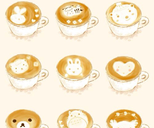 cute, coffee, and kawaii image