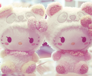hello kitty, cute, and kawaii image