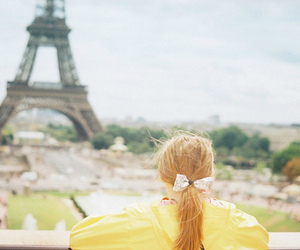 france, girl, and paris image