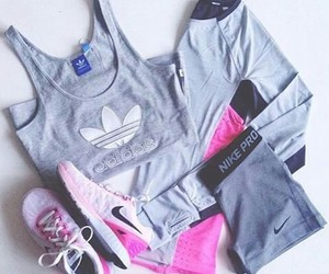 adidas, nike, and fitness image